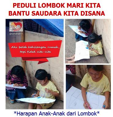 Peduli Lombok klik disini